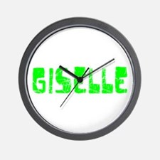 Giselle Faded (Green) Wall Clock