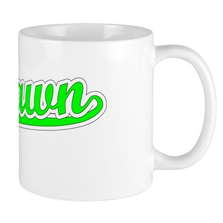 Retro Deshawn (Green) Mug
