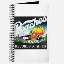 Peaches Records and Tapes logo Journal