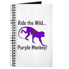 Ride the Wild Purple Monkey Journal