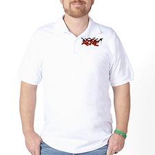 Hip hop Red Flame T-Shirt