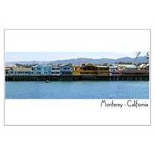 Fishermans Wharf in Monterey - 2 of 2 posters