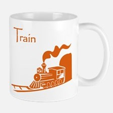 The Orange Train Mug