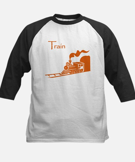 The Orange Train Kids Baseball Jersey
