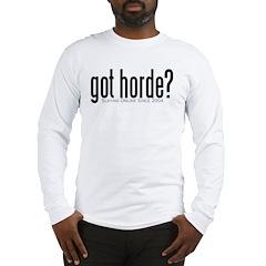 got horde Long Sleeve T-Shirt
