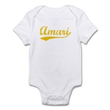 Vintage Amari (Orange) Infant Bodysuit