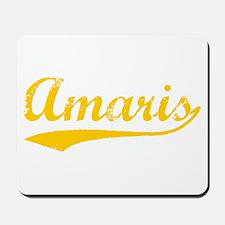 Vintage Amaris (Orange) Mousepad