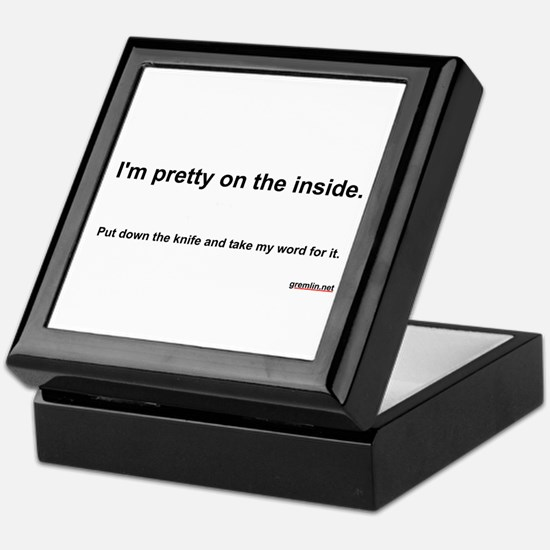 Pretty on the Inside Keepsake Box