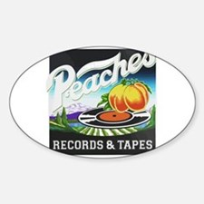 Peaches Records and Tapes logo Decal