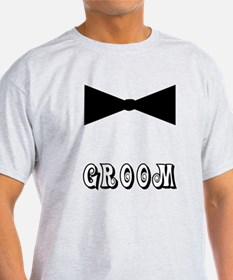 Black Tie GROOM T-Shirt