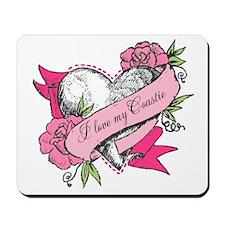 Heart & Roses Mousepad