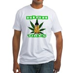 High Times Kitty Fitted T-Shirt