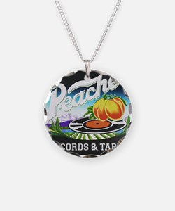 Peaches Records and Tapes lo Necklace