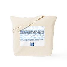 Unique Would Tote Bag