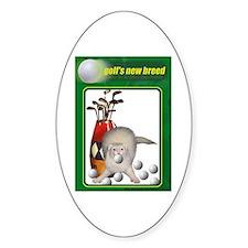 Golf Ferret Oval Decal