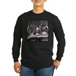 Seven Ducks Long Sleeve Dark T-Shirt