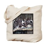 Seven Ducks Tote Bag