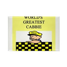 cabbie gifts t-shirts Rectangle Magnet