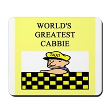 cabbie gifts t-shirts Mousepad