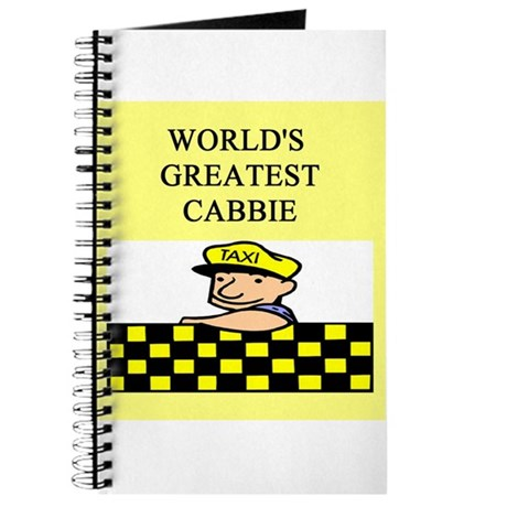 cabbie gifts t-shirts Journal