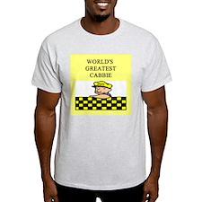 cabbie gifts t-shirts T-Shirt
