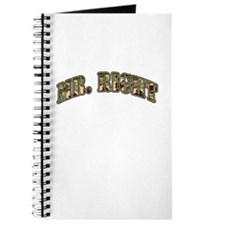 Camo Mr. Right Journal