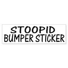 Stoopid