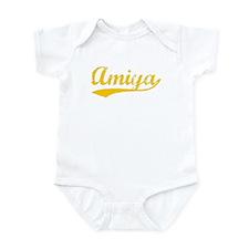 Vintage Amiya (Orange) Infant Bodysuit