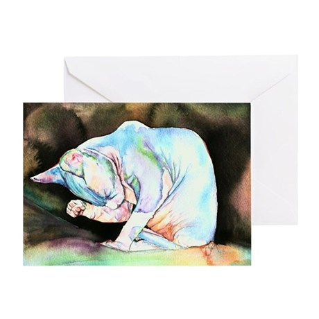 Sphynx Greeting Card