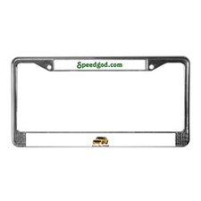 Funny Goodies License Plate Frame