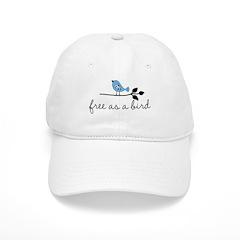 free as a bird Cap