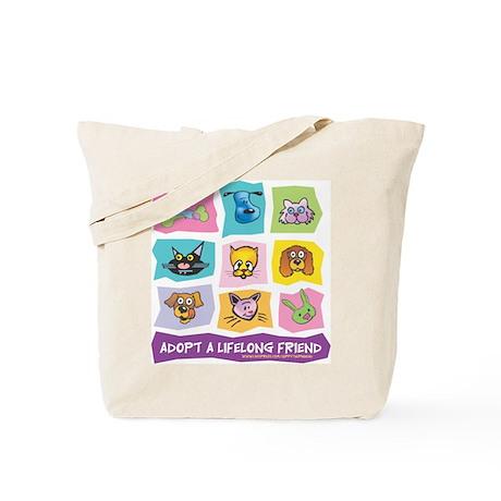 Adopt A Lifelong Friend Tote Bag