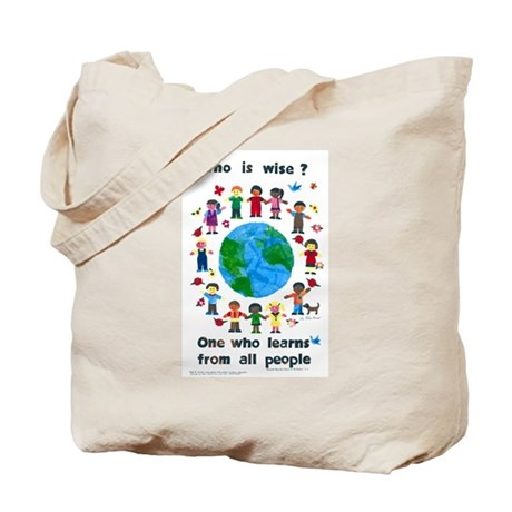 Who is Wise -Tote Bag