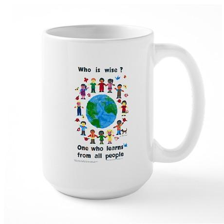 Who is Wise - Large Mug