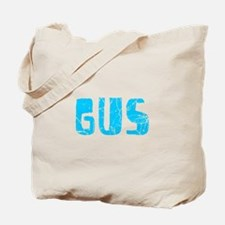 Gus Faded (Blue) Tote Bag