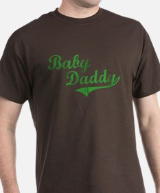Baby Daddy Old School Style T-Shirt