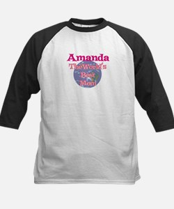Amanda - World's Best Mom Tee