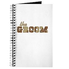 Desert Camo The Groom Journal