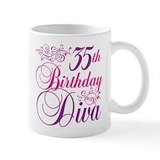 35th Birthday Diva Mug
