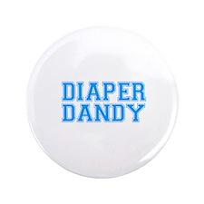 "Diaper Dandy 3.5"" Button (100 pack)"