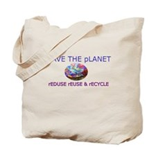 """Save The Planet"" Tote Bag"
