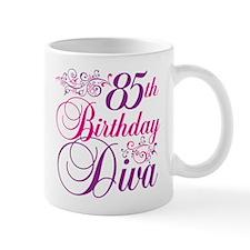 85th Birthday Diva Small Mug