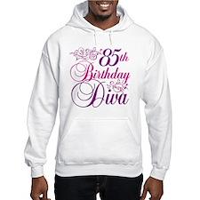 85th Birthday Diva Hoodie
