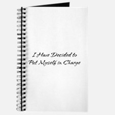 I Have Decided to Put Myself Journal