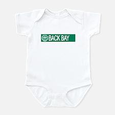 """""""Back Bay"""" Infant Bodysuit"""