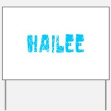 Hailee Faded (Blue) Yard Sign