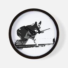 Funny Schutzhund Wall Clock