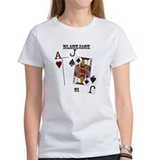 Blackjack Cards Tee