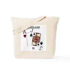 Blackjack Cards Tote Bag