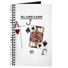 Blackjack Cards Journal